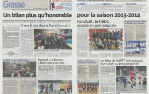 Article Nice-Matin du 22/07/2014
