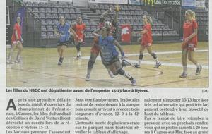 Article Nice-matin du 09/10/2014