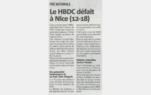 Article nice-matin 19/11/2014