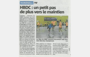 Article Nice-Matin du 22/04/2015