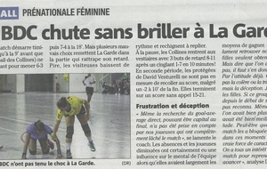 Article Nice Matin du 20/01/2016