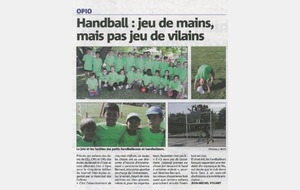 Article Nice-Matin du 30-05-2016