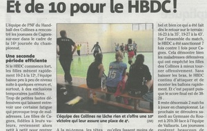 Article Nice-Matin du 27/04/2017