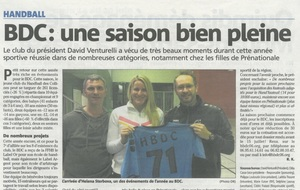 Article Nice-Matin du 15/06/2017