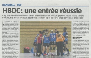 Article Nice-Matin du 27/09/2017