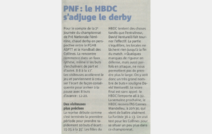 Article Nice-Matin du 10/10/2017